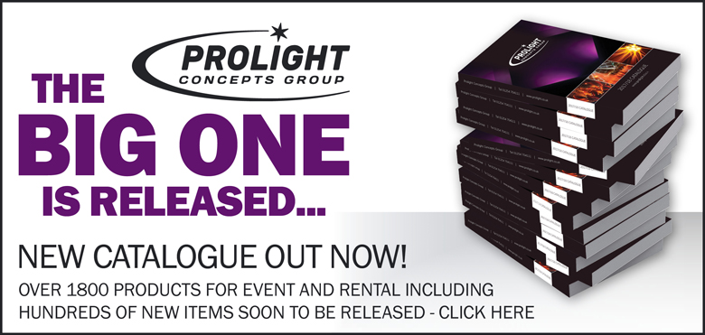 The Big One Is Released | Prolight Concepts 2017/18 Catalogue