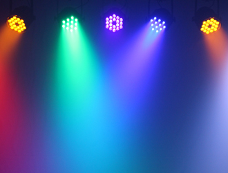 LEDJ Performer light effects