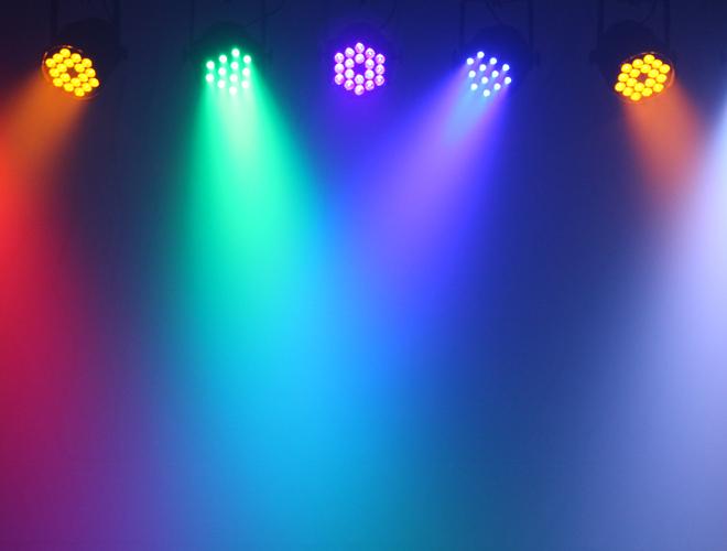 LEDJ Performer light effects