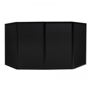 Black Foldable DJ Screen