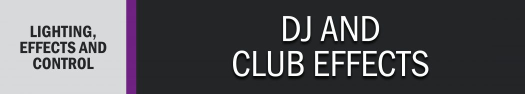 DJ and Club Effects