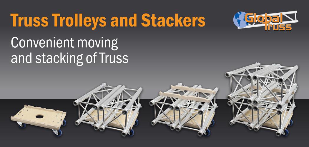 Truss Trolleys and Stackable Adaptors