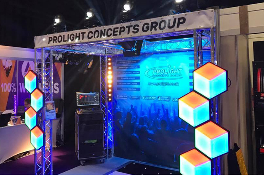 Prolight at Plasa Focus Glasgow 2017
