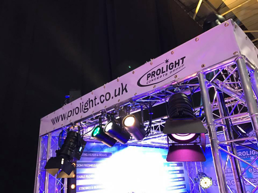 Prolight at Plasa Focus Glasgow
