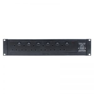 6 Way PDU with Switchable Outlets