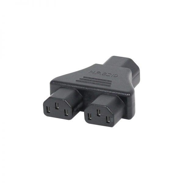 Adapter IEC Male – 2 IEC Female 10A