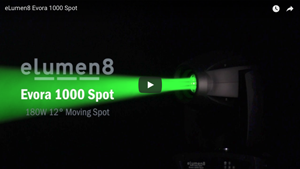 Evora 1000 Spot moving head