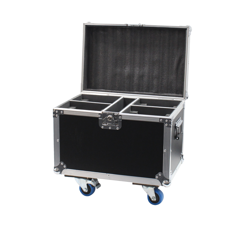 Quad Fusion100 Spot and 120 Zoom Flight Case