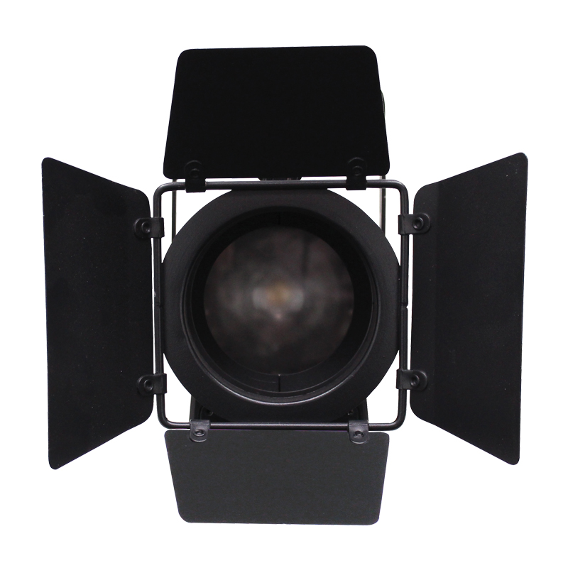 Mp 60 Led Fresnel Cw With Barn Doors Prolight Concepts