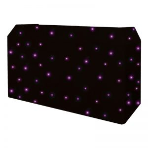 PRO DJ Booth Quad LED Starcloth System