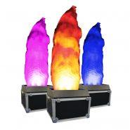 2.0m DMX RGBA Flame Machine