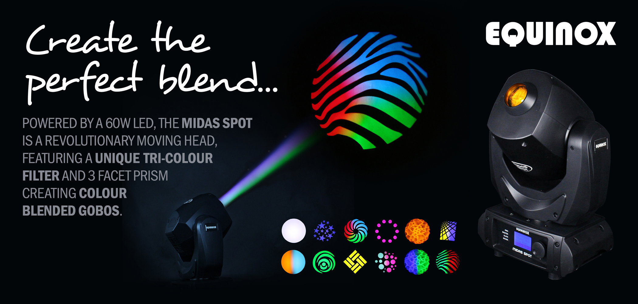 Midas Spot Moving Head Banner