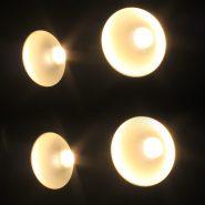 200W COB 3200K Blinder Lights