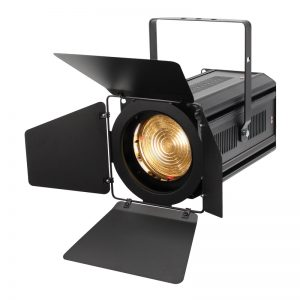 ZF 100 LED Zoom Fresnel Warm White theatre and stage lighting