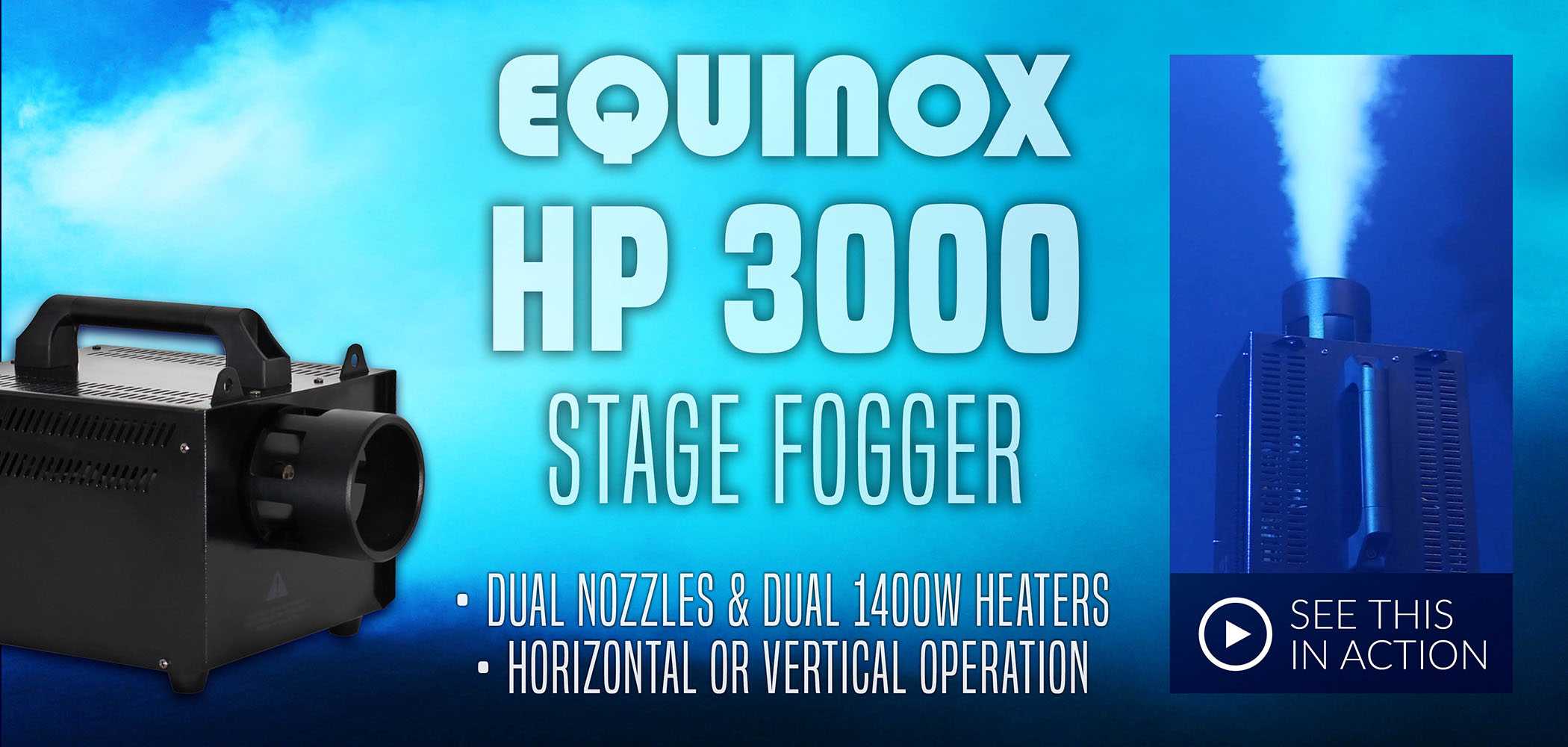 HP 3000 Stage Fogger