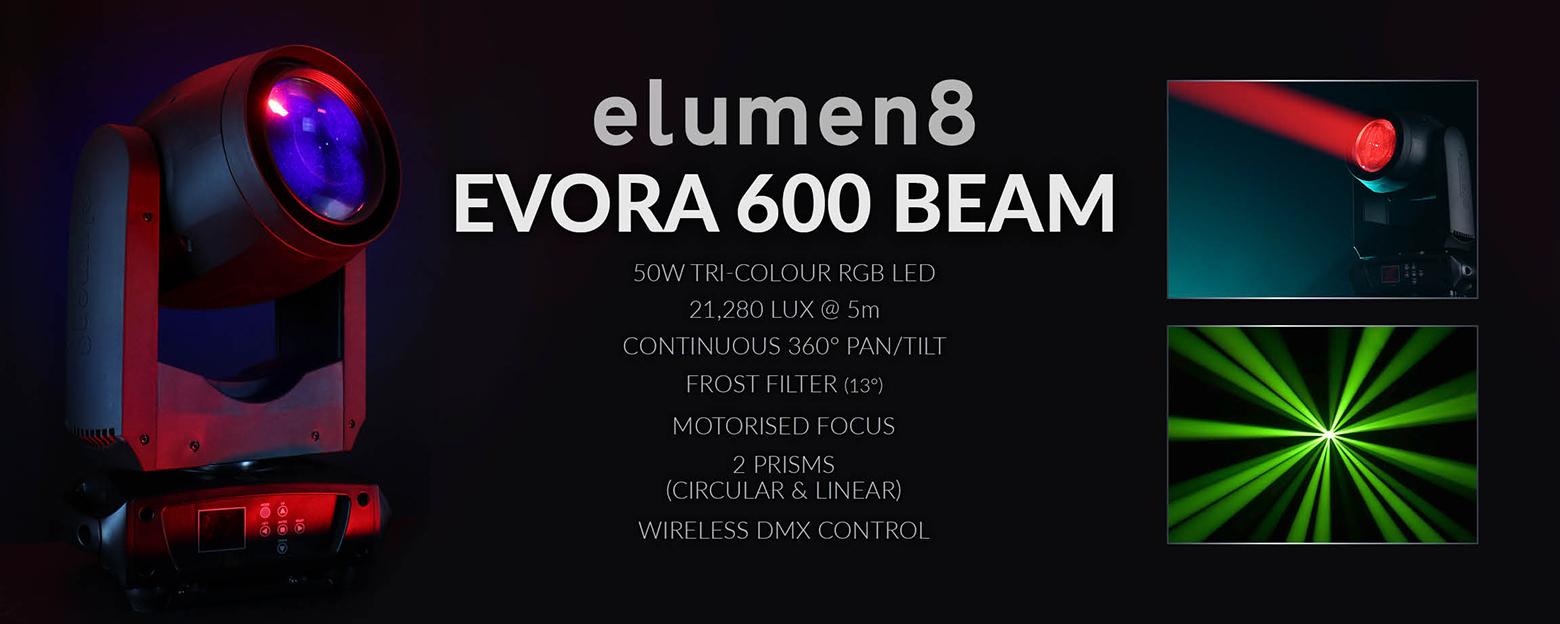 Evora 600 Beam My Account Banner