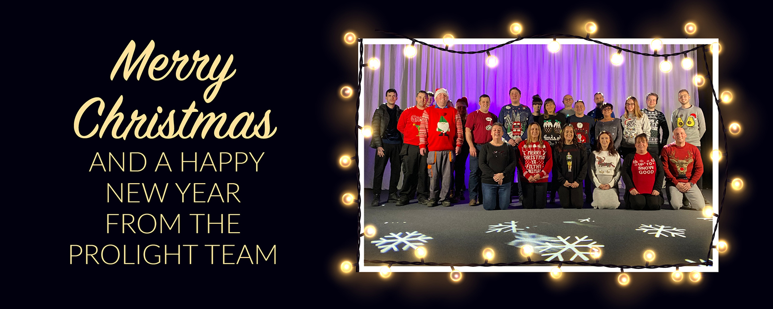 Merry Christmas from Prolight
