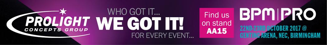 BPM Pro Event Banner