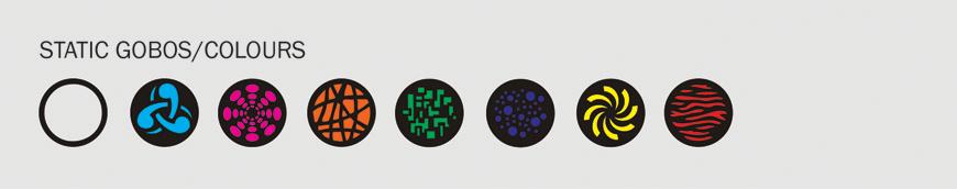 Equinox Fusion Roller MAX Gobo/Colour Wheel