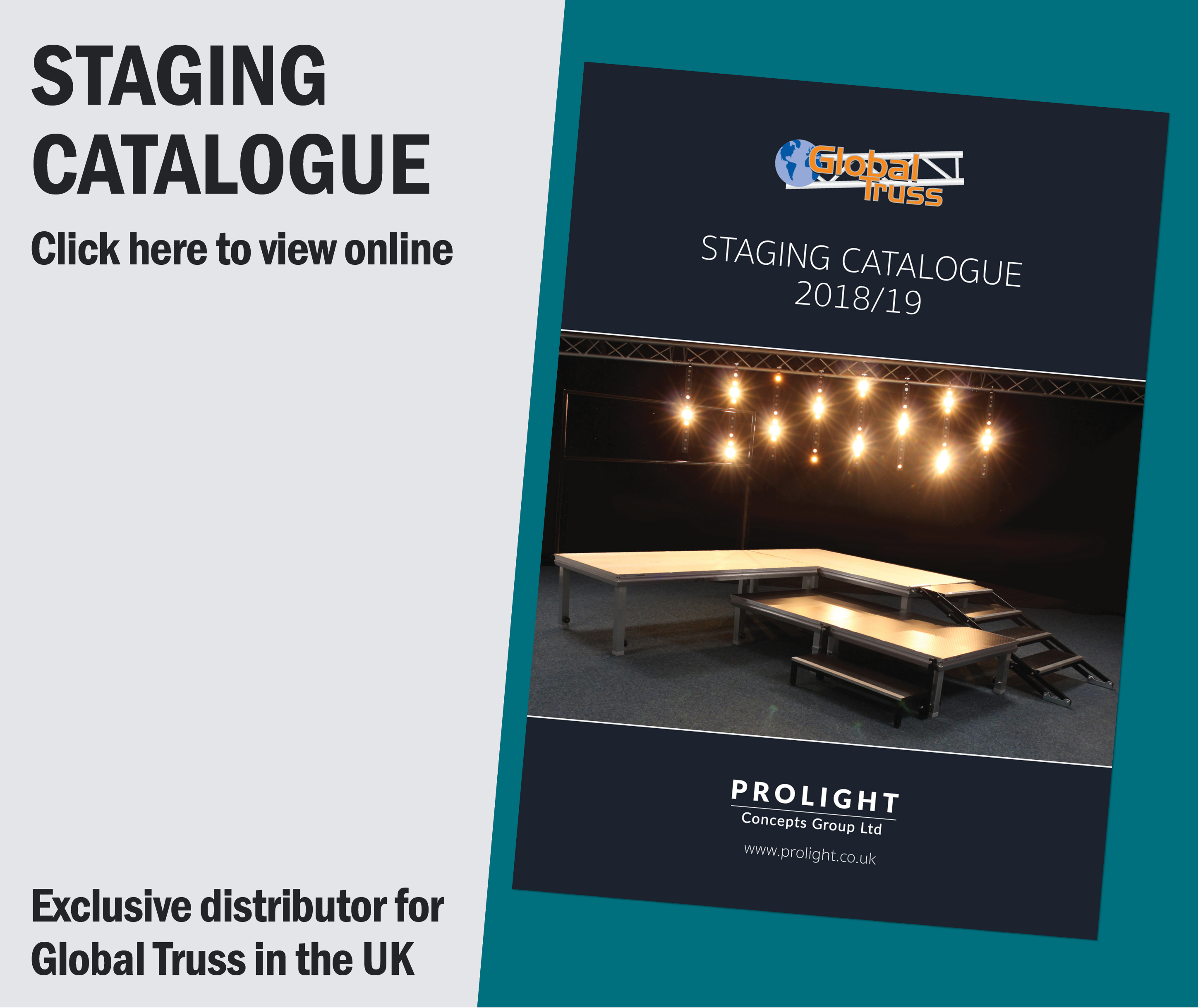 Prolight Concepts Staging Catalogue