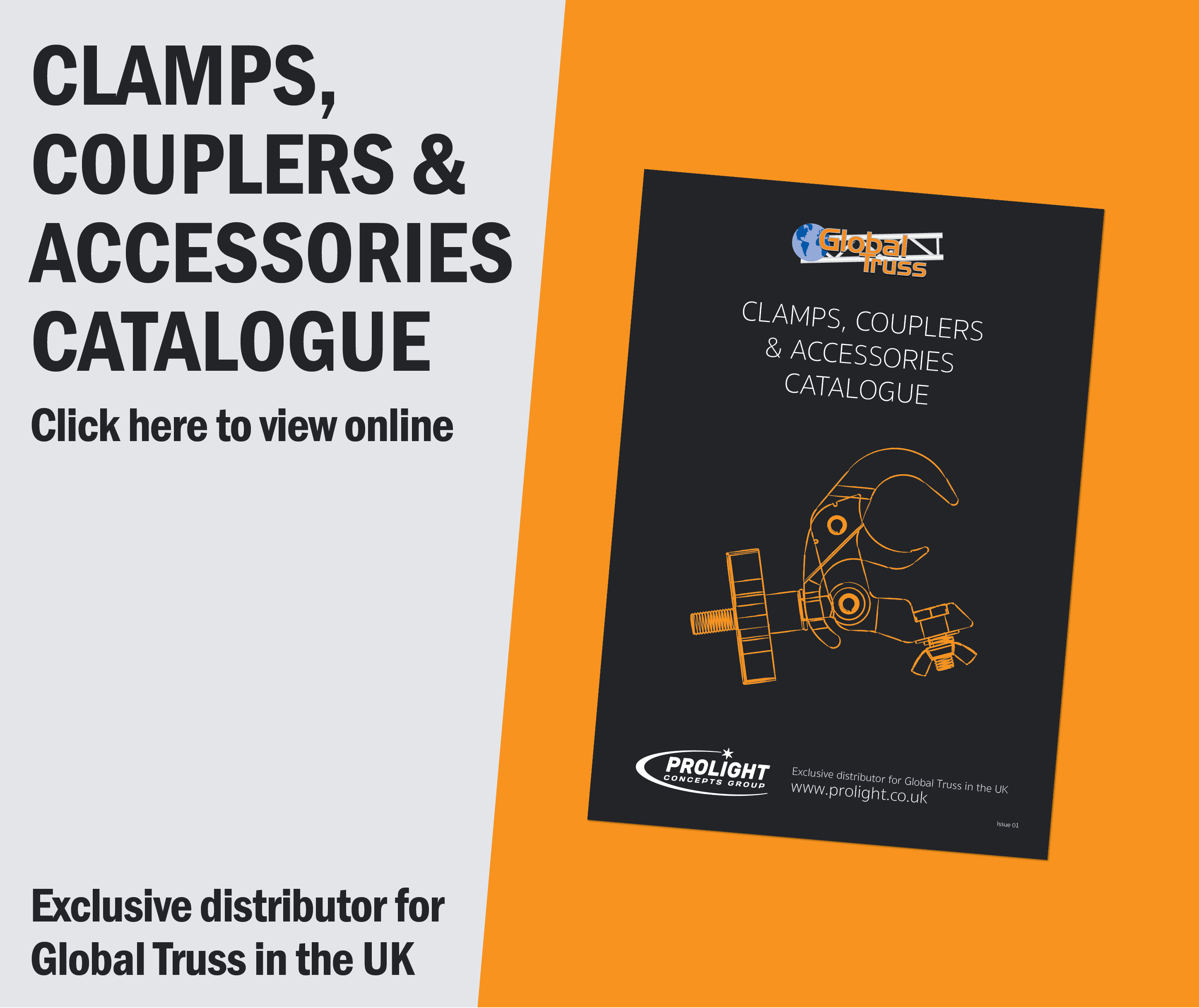 Prolight Concepts Clamps, Couplers and Accessories Catalogue