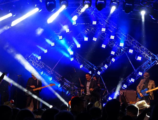 eLumen concert lighting
