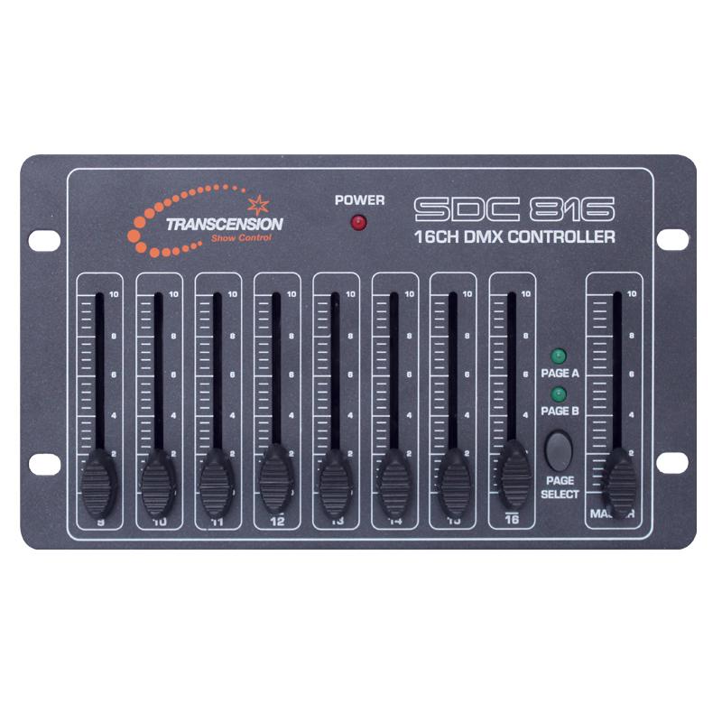 SDC-816 DMX Controller   Prolight Concepts
