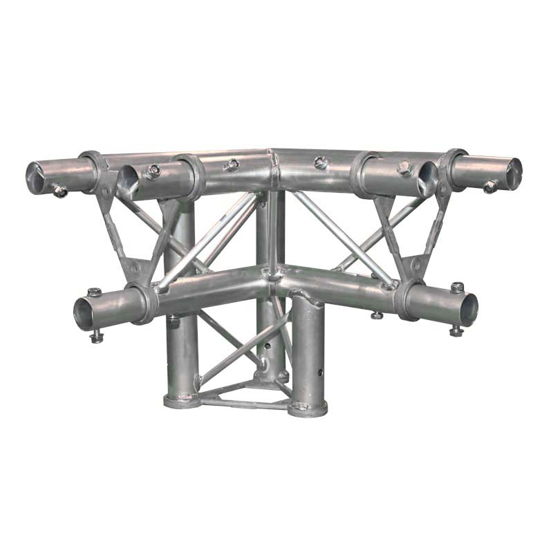 Global Truss 3 Way 90 Degree Corner L/H Apex Down
