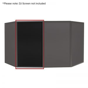 DJ Screen Black Replacement Lycra Cloth (Single)