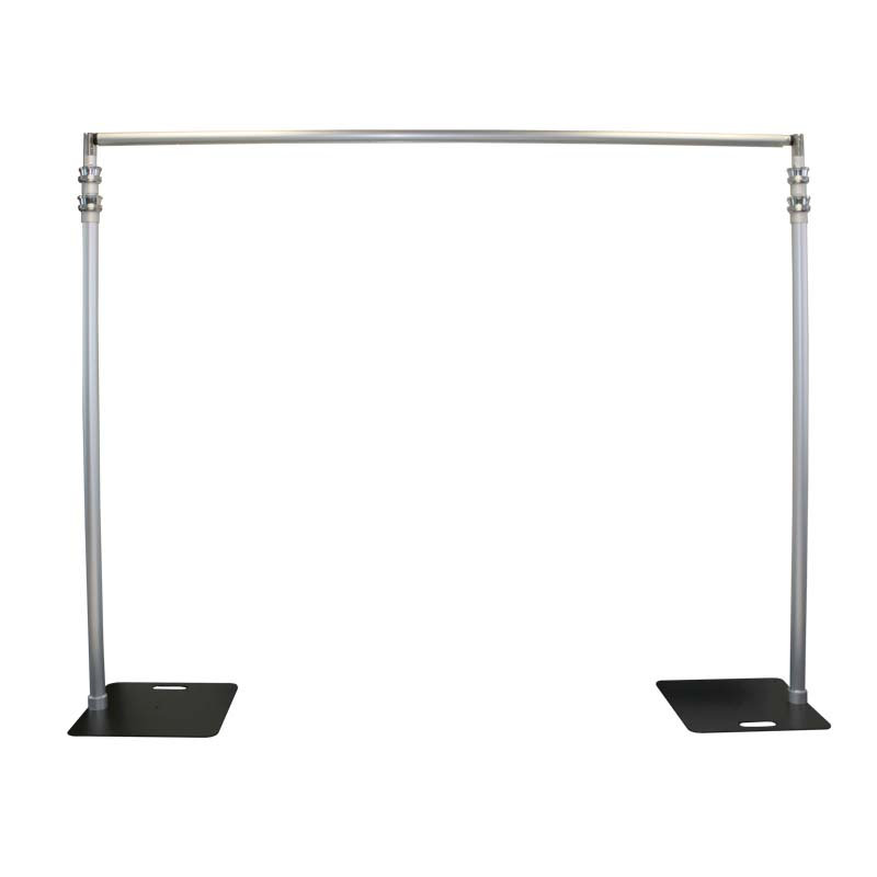 crossbar p stand pipe set drapes kit drape pipesside x and base backdrop upright