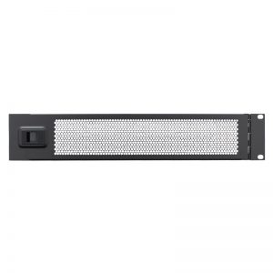 2U 19″ Vented Hinged Rack Panel