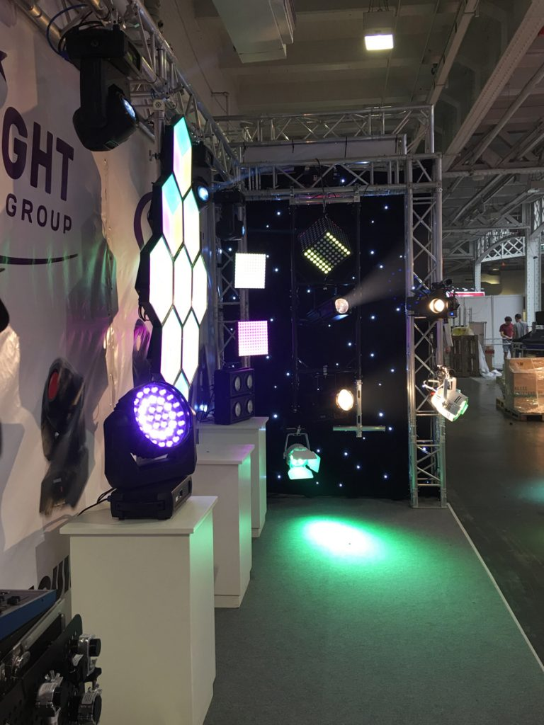 The Prolight Stand at Plasa 2016