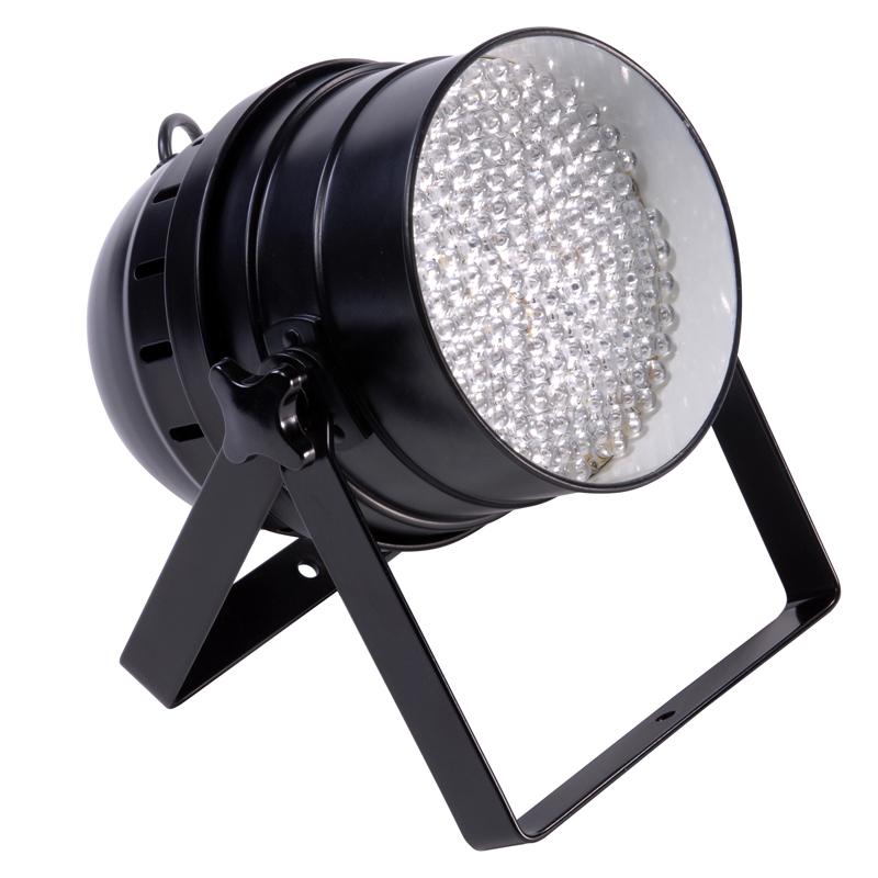 Floor Track Lighting: LED 64 Floor Can (Black Housing)