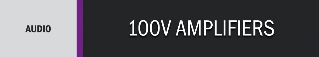 100V Amplifiers