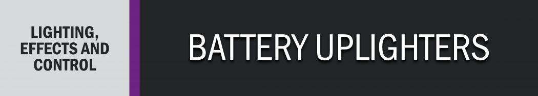 Battery Uplighters