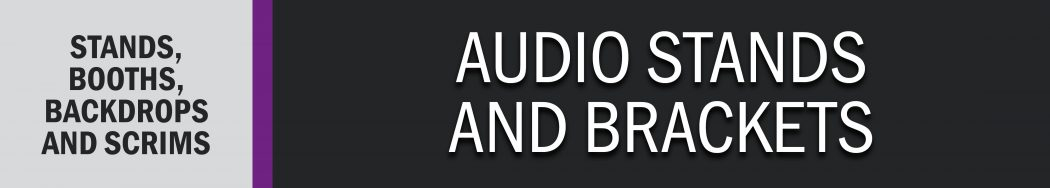 Audio Stands and Brackets