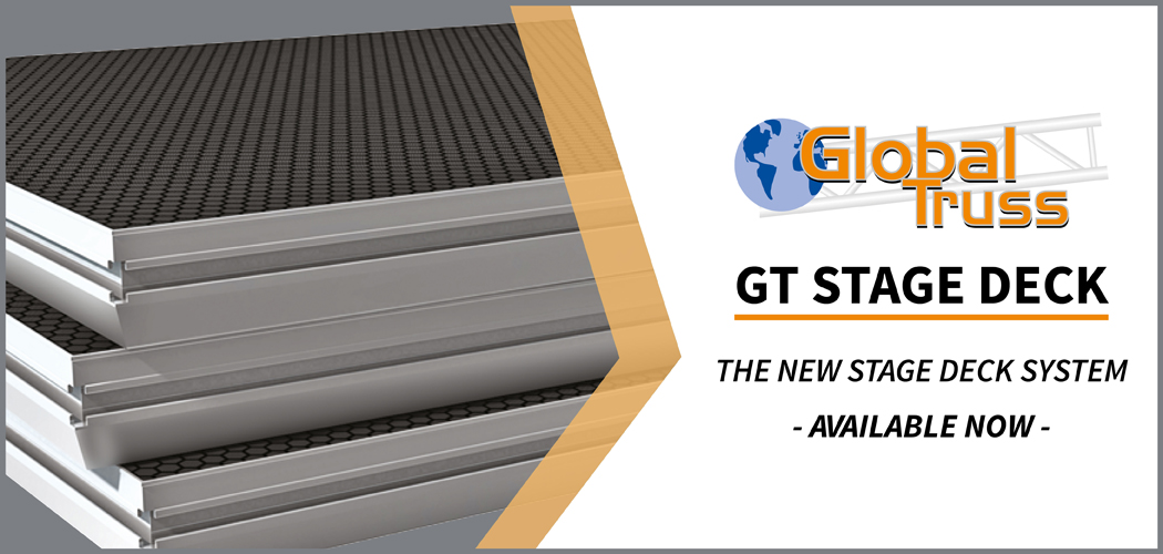 Global Truss GT Stage Deck Home Banner