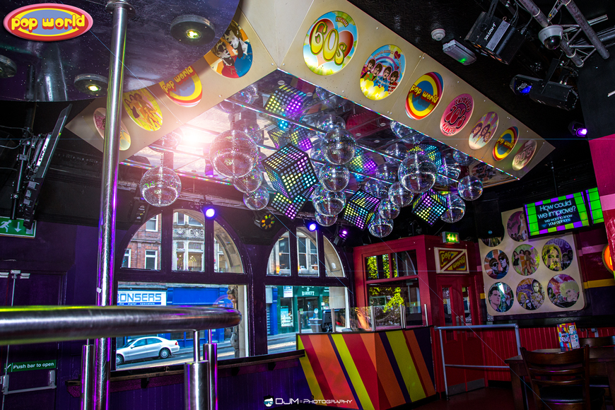 Popworld go Retro with LEDJ