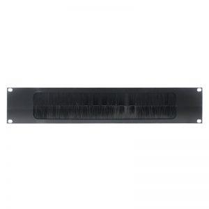 2U 19″ Cable Access Rack Panel