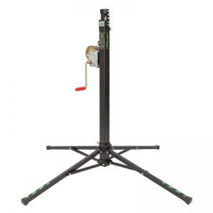 Kuzar K-1 wind up stand 3.8m 125kg - A winch stand from Kuzar