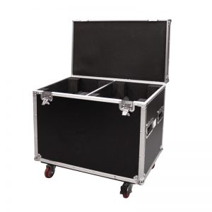 Twin Moving Head Flight Case
