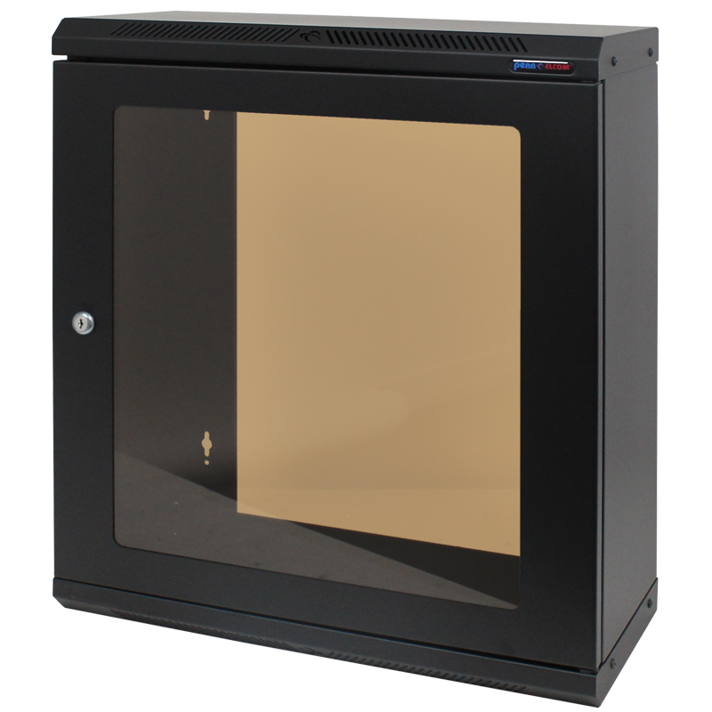 12U Shallow Wall Mount Rack Cabinet