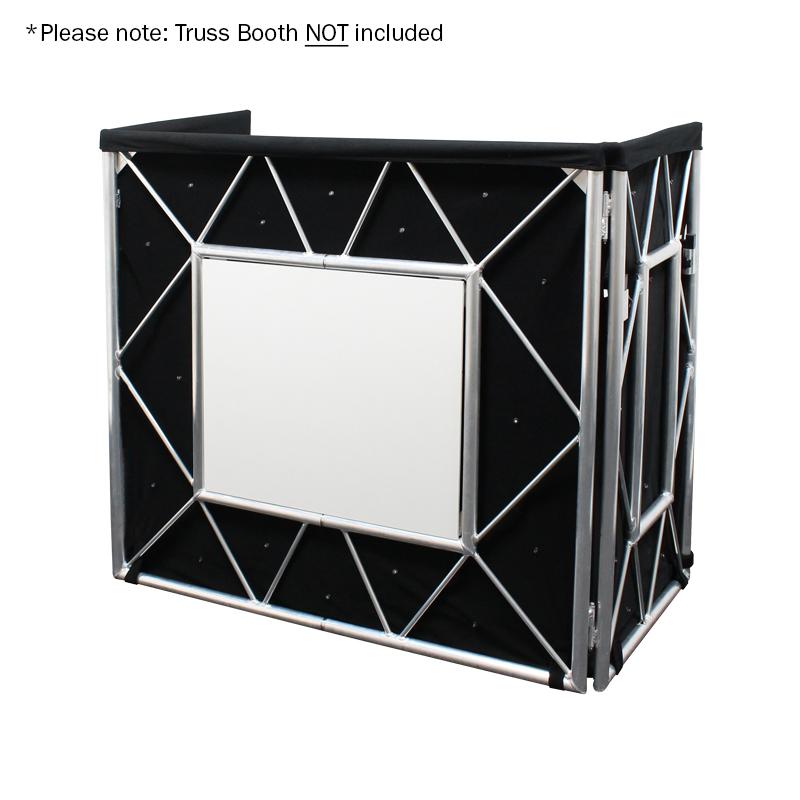 Truss Booth Quad LED Starcloth System - Unlit
