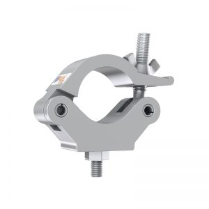 Global Truss Half Coupler 750kg Silver (8121)
