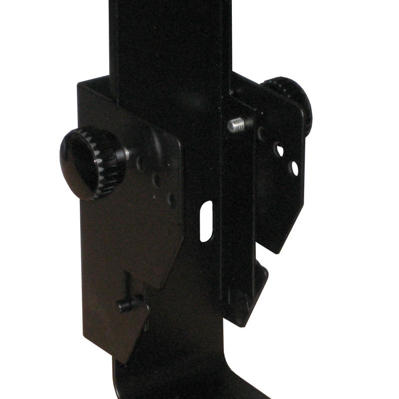 PSR 8 Black Speaker Bracket - Close up