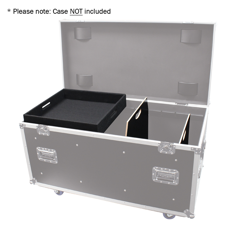 Accessory Tray and Divider Kit for 1200mm Road Case