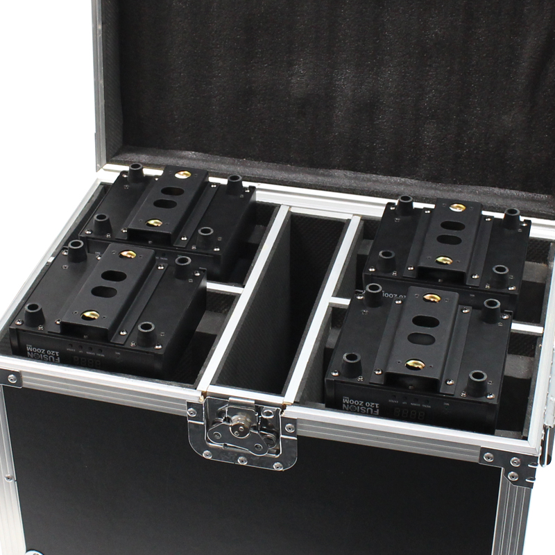 Quad Fusion 100 Spot and 120 Zoom Flight Case