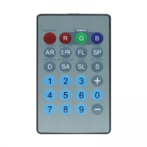IR Remote for Tri Fixtures (RGB)