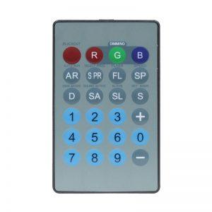 IR Remote for Tri Fixtures (RGB)