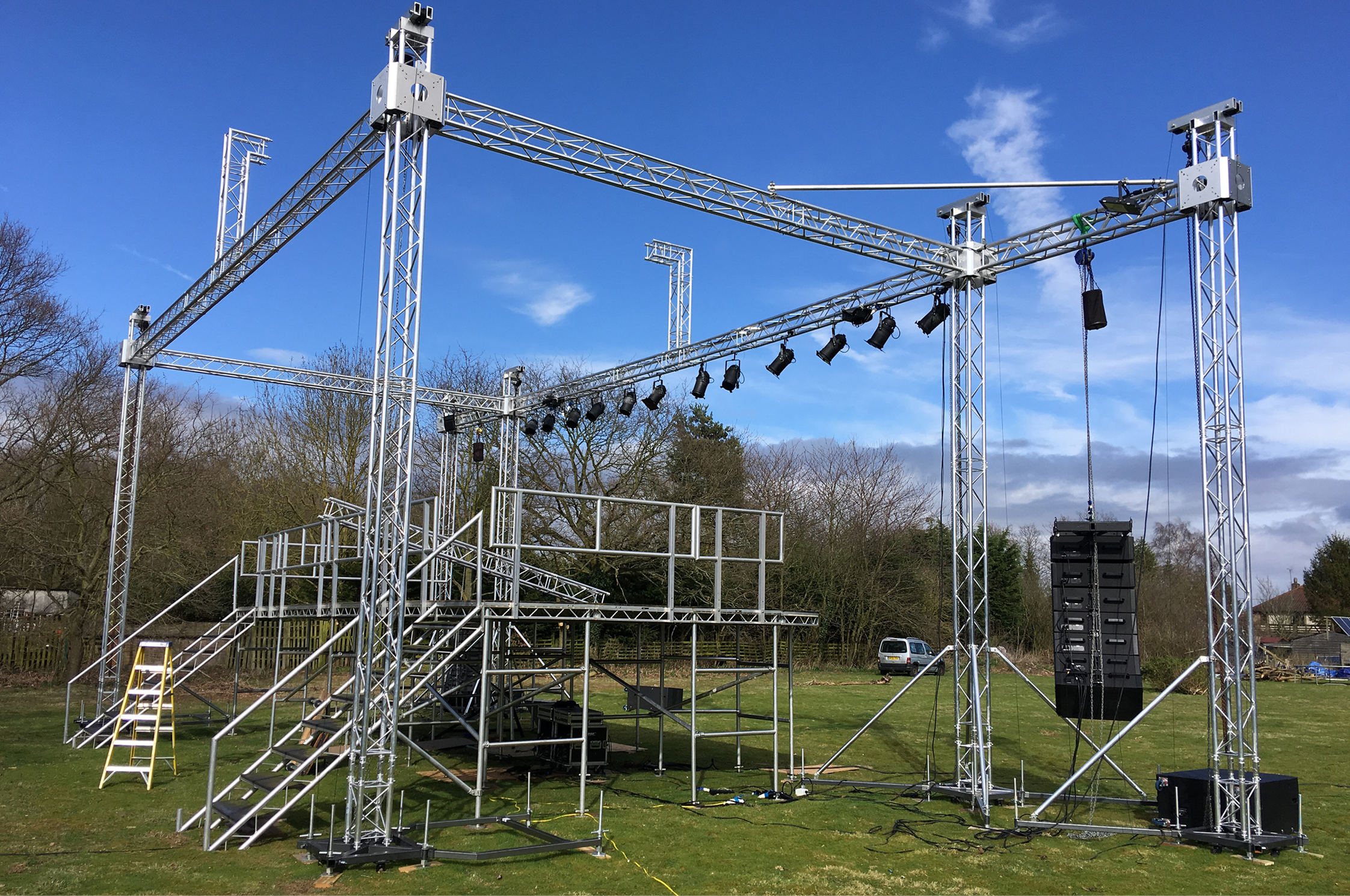 East Staging invest in Global Truss